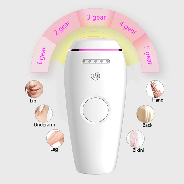 IPL Hair Removal S1 five gears