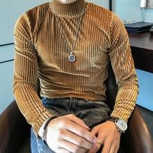 2020 Brand clothing Men autumn slim leisure High c