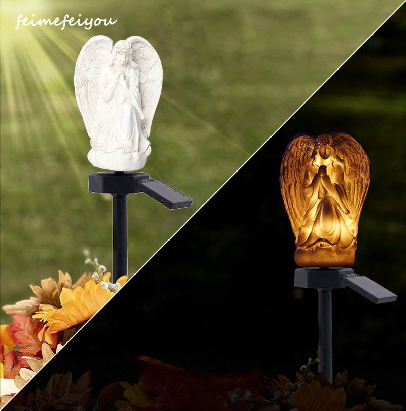 Solar Light Statue  Outdoor Waterproof Garden Courtyard Inserted Lawn Lights Bright And Durable Contemporary Incandescent Bulbs