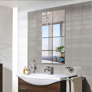 8pcs Removable Mirrors Wall St