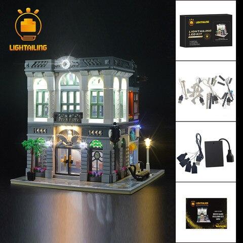 lightailing led light up kit para o criador tijolo banco blocos de construcao conjunto iluminacao