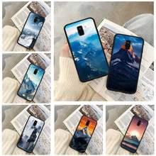 Capa de telefone de montanha famosa por huawei nova 5 t y5 y7 y9 s prime mate 20x10 20 30 lite pro 9