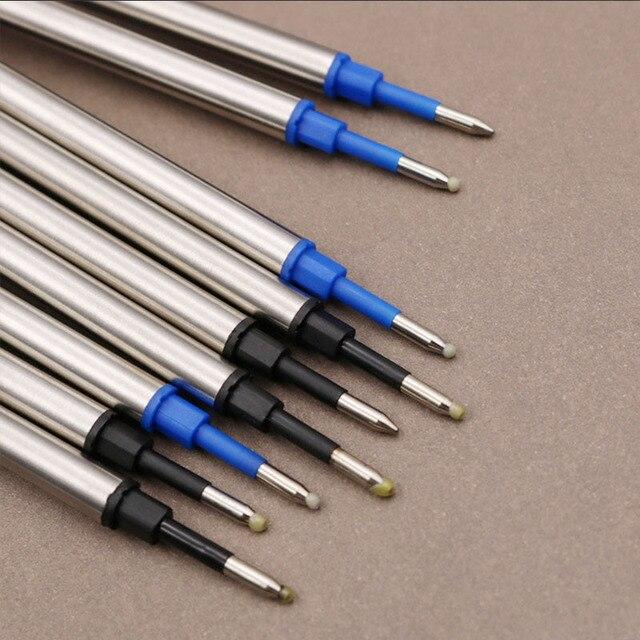 5 pcs/lot Metal Refills 0.5mm for Roller Ballpoint Pen Business Pen Ball Pen Refills 11cm Length Office School Supply Stationery 1