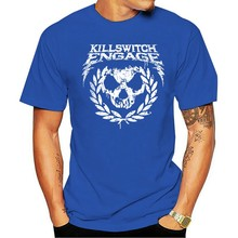 Killswitch Engage Kull Spraypaint' - NEW & OFFICIAL 2021 Fashion 100% Cotton O-neck T-shirt