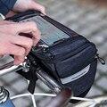 Wasserdichte Fahrrad Lenker Tasche MTB Radfahren Lenker Lagerung Korb Bag Front Rahmen Tasche Berührt Bildschirm Telefon Halter