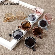 Oso líder 2021 nueva moda de gafas de sol para Niños Niñas y Niños de estilo Simple con la Carta caliente gafas de sol gafas 7Color