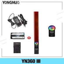 YONGNUO YN360 III YN360III Đèn LED Video Cầm Tay Cảm Ứng Điều Chỉnh Từ Xa Bằng Remote Điều Chỉnh RGB Nhiệt Độ Màu 3200K 5500K