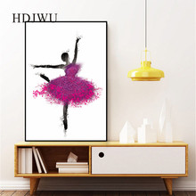 Modern Art Home Canvas Wall Painting Simple Figure Beauty Printing Posters Pictures for Living Room DJ553