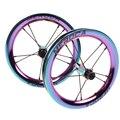 Новая детская раздвижная велосипедная пара колес 12 дюймов прямой подшипник BMX балансный велосипед колеса 85 мм 95 мм BMX S K части велосипеда