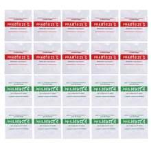 20 pçs/lote Ph Pó 4.00/6.86 Ponto de Calibração PH Medidor de Teste Medida Solução De Calibração Para PH