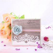 YaMinSanNiO Lace Border Metal Cutting Dies Frame Album Paper Craft Stencil Templates Scrapbooking Embossing Decor Dropshiping