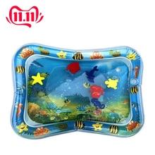 מתנפח שימוש כפול תינוק צעצועי ילדים לשחק מחצלת מתנפח טפח כרית תינוק בטן מים מחצלת ערמונית טפיחת כרית מים כרית