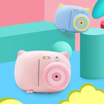 Papieru do rysowania dla dzieci aparat śliczne dzieci aparat Polaroid natychmiastowy nadrukowane zdjęcia aparatu z 3-cieplnego o pojemności dla dzieci aparat fotograficzny tanie i dobre opinie Z tworzywa sztucznego CN (pochodzenie) 3 lat Unisex 302537 Zasilanie bateryjne Aparat cyfrowy Zabawki kamery