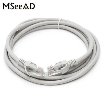 5 sztuk 10 sztuk 20 sztuk 50 sztuk 1m CAT5 RJ45 kable Ethernet złącze Ethernet sieć internetowa kabel przewód linii szary Rj 45 Lan CAT5 tanie i dobre opinie