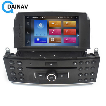 Vertical Screen Car Radio Stereo for Mercedes Benz c220 cdi 2008 Car Autoradio GPS Navigation Multimedia DVD player image