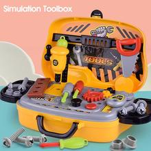 Children Toys Electric Drills Tool Toys Toolbox Set Simulation Drill Boy Puzzle Simulation Play House Toolbox Toy Set