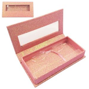 Image 2 - 20pcs wholesale square false eyelash packaging box custom logo fake 3d mink eyelashes boxes faux cils magnetic case lashes empty