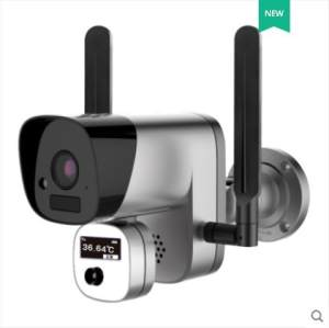 Camera Body-Temperature Face-Recognition Wireless WIFI Alarm Thermo-Vision Humen Fever