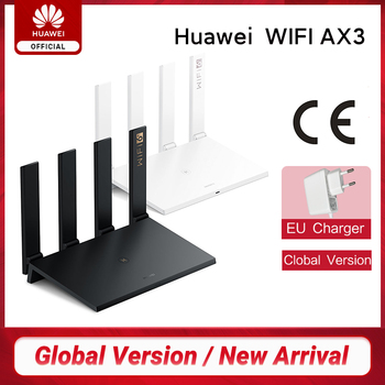 New Arrival Global Version Huawei Router AX3 Wi-Fi 6 Plus 2.4GHz&5GHz Dual Core 3000Mbps Wireless Wi-Fi Smart Home Router AX3