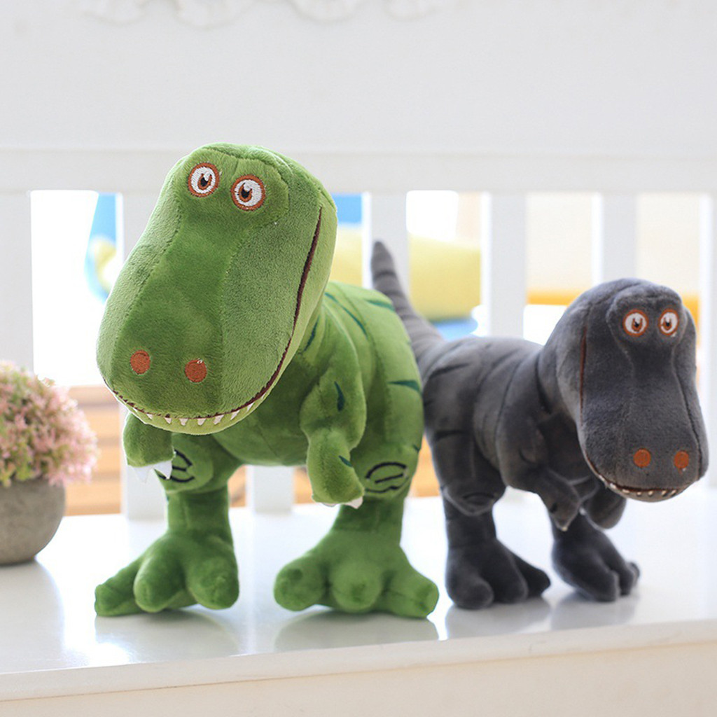 Bed Time Stuffed Animal Toys Cute Soft Plush T-Rex Tyrannosaurus Dinosaur Figure Portable Kids Toys Juguetes Brinquedos игрушки