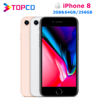 "Apple iPhone 8 Factory Original apple phone  4G LTE 4.7"" Hexa core Fingerprint A11 12MP RAM 2GB ROM 64GB/256GB IOS Cellphone|Cellphones| |  -"