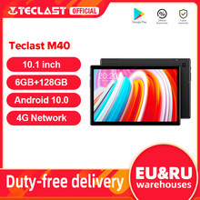Teclast M40 10.1 ''Tablet 1920x1200 sieć 4G UNISOC T618 Octa Core 6GB RAM 128GB ROM tablety PC Android 10 Dual Wifi type-c