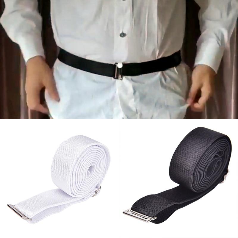 2Colors Anti Wrinkle Strap Hot Shirt Dress Holder Adjustable Near Shirt Stay Best Non-slip Tuck It Belt