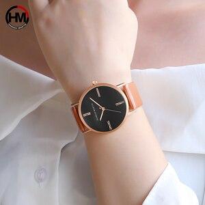 Image 2 - 日本インポート運動本物のシンプルなデザインの女性のファッションの高級ブランドクォーツ時計レディース腕時計