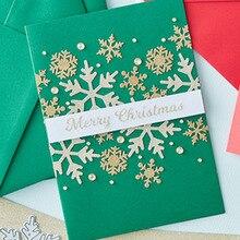 4 Types Snowflake Metal Cutting Dies Delicate Snowflakes Die Cuts For Card Making DIY Scrapbook New 2019 Embossed Crafts Cards