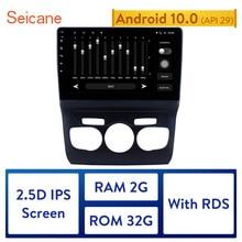 "Seicane 10.1 ""Android 10.0 araba Bluetooth radyo GPS navigasyon 2013  2016 Citroen C4 sol el sürücü desteği DVR USB WIFI"