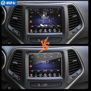 Image 3 - MOPAI Auto Aufkleber für Dodge Challenger 8,4 Zoll Auto GPS Navigation Display schutzfolie für Dodge Challenger Auto Zubehör