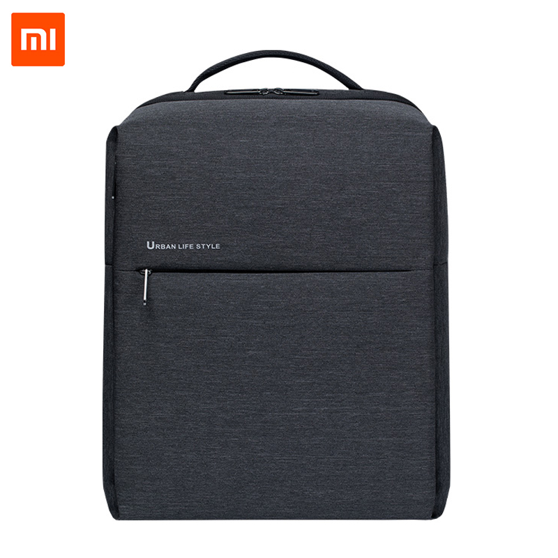 Original Xiaomi Urban Simple Backpack 2 Generation Rucksack Daypack School Bag Duffel Bag Fits 15.6 Inch Laptop Portable
