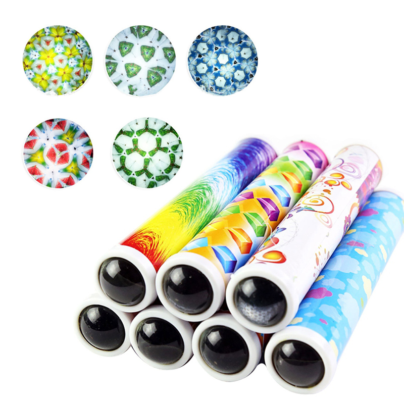 Lucky Twisting Kaleidoscopes Rotating Kaleidoscope Children Toys For Children Educational Science Toy Classic Toys Random Color