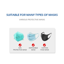 100pcs N95 Mask Filter Pad Disposable Anti Virus Mask Gaskets Replacements KF94 KN95 All Face Masks Filters Respirator Filter