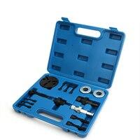 Kit de ferramentas do extrator da embreagem do compressor a/c   removedor automotivo do condicionador de ar do carro