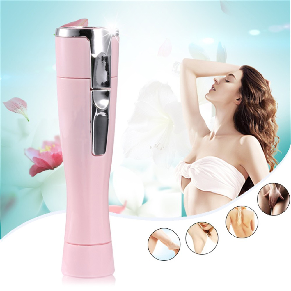 Mini Lady Epilator  Shaving Knife Women Hair Remover Portable Depilatory Female Razor Shaver Travel Essentials KM-1012 DF