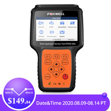 Foxwell NT650 Elite OBD2 Automotive Scanner Abs Srs Dpf Olie Reset Code Reader Professionele Obd Auto Diagnostic Tool OBD2 Scanner(China)