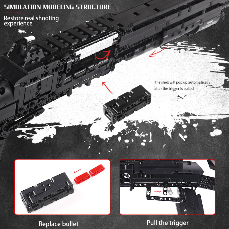MOULD KING 14003 The Benelli M4 Super 90 Weapon Model