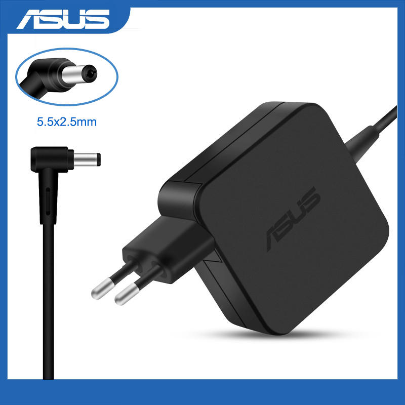 Power-Charger Laptop Ac Adapter K53E K53S X550C X751MA F551C E200H X555L Asus 19V 45W