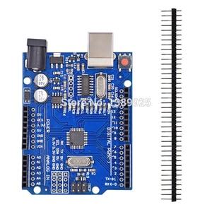 Image 2 - Kit de démarrage R3 carte mini platine de prototypage LED bouton de fil de cavalier pour compatibilité Arduino