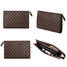 2020  new personality fashion envelope lady bag x, high volume clutch Leather Wallet  plaid clutch Mens Money Bag  purses
