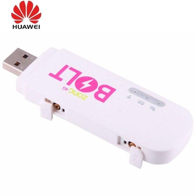 Huawei E8372 E8372H-153 4G wifi stick con 2pcs antenna