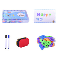 Alphabet Kids Toy Spelling Classroom Home Washable Magnet Board Fridge Stickers EVA Gift Learning Magnetic Letters Set School