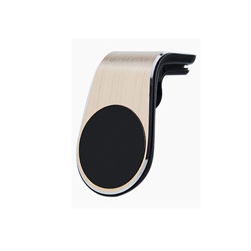 Креативный Автомобильный держатель для телефона, автомобильный держатель для мобильного телефона, автомобильные запчасти - Название цвета: Золотой