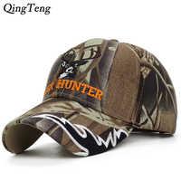 2020New Arrival Deer Cap Camo Caps Baseball Casquette Camouflage Hats Casquette Men Hunting Hat