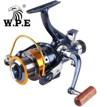 Buy W.P.E Innovation Waterproof  Fishing Reel9+1Ball Bearing Front and Rear Drag System with 8KG Max Drag Cap Fishing Spinning Reel directly from merchant!