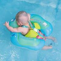 Anel de natação do bebê flutuador inflável infantil flutuante crianças nadar piscina acessórios círculo banho inflável dupla jangada anéis brinquedo