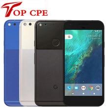 Original desbloqueado google pixel 5.0 xl xl/pixel xl 5.5 core inch polegada quad núcleo único sim 4g android 4gb ram 32gb rom usado telefone móvel