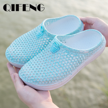 Summer Outside Slippers Women Beach Shoes Casual Fashion Outdoor Slippers Cheap Sandal Jelly Shoes Female Cute Slippers on Sale