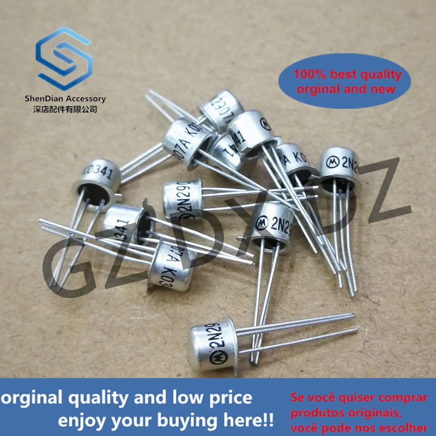10pcs 100% Orginal New 2N2907A 2N2907 TO-18 Switching Transistor  Real Photo